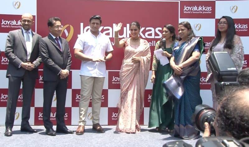 Joy alukkas opened new branch in chennai