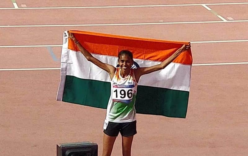Asian athletics P u Chitra bags gold and bronze for dutee chand