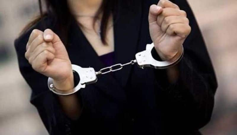 illegal love...wife murdered husband was arrested