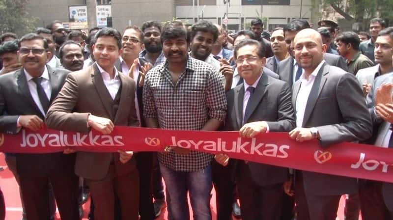 joy alukkas opened their new branch in madurai today