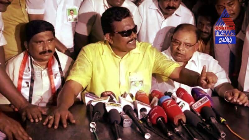 Andipatti Thanga thamizh selvan angry against Election commission