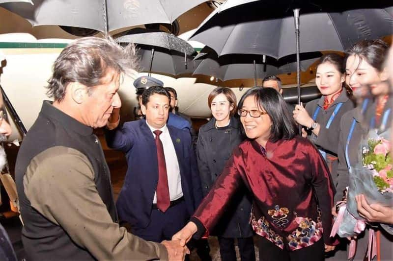 China shows Pak its place Imran Khan received by junior officer of Beijing municipality