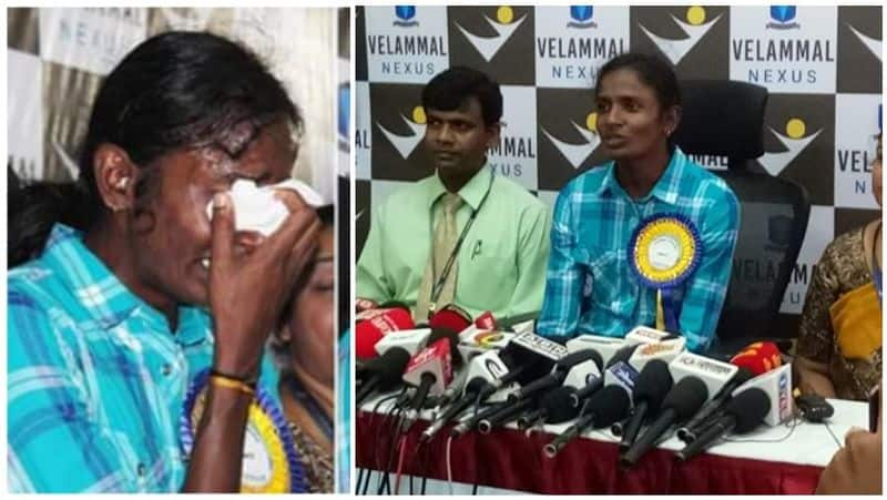 gomathy marimuthu cried a lot during the press meet