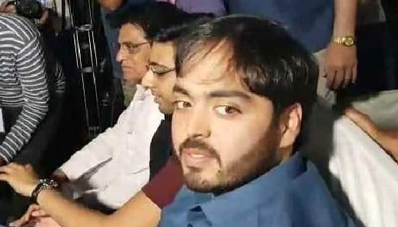 Anant Ambani Seen At PM Modi Rally Days After Father Backs Congress Man