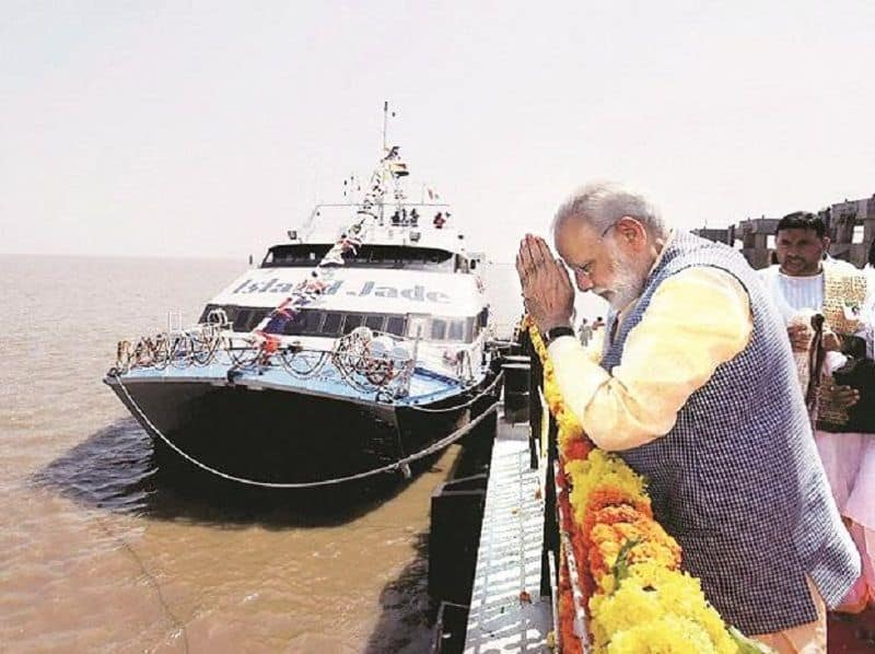 Under modi government surged growth water transportation sector, world praised efforts