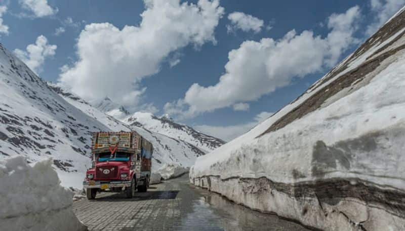 India's strategic Srinagar-Leh highway reopens after 4 months, role of differently abled man hailed