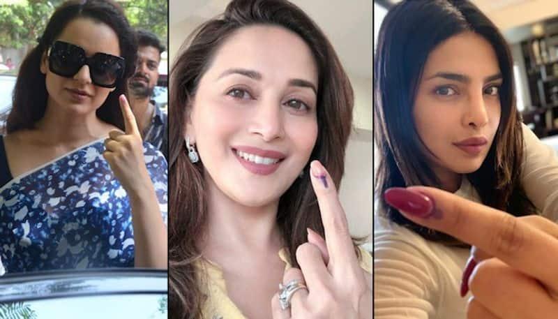 From Priyanka Chopra to Aamir Khan: Bollywood celebrities vote in Maharashtra