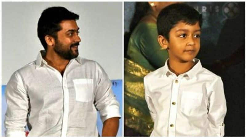 surya's son wins national level