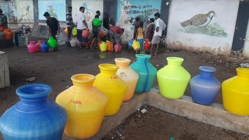 3 days once only drinking water will be supply in  chennai