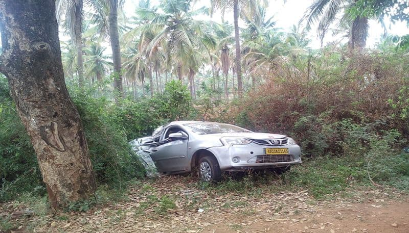 Two Students Killed in Car Accident Tiptur Tumkur