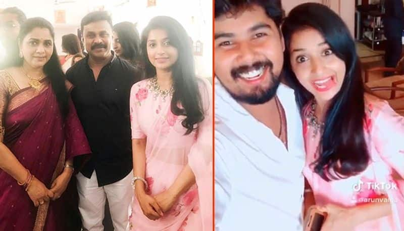 Dileep, Meera Jasmine together attend wedding at Ernakulam (In Pictures)