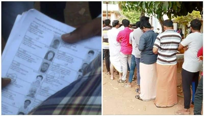 Re-vote in Ops son's constituency