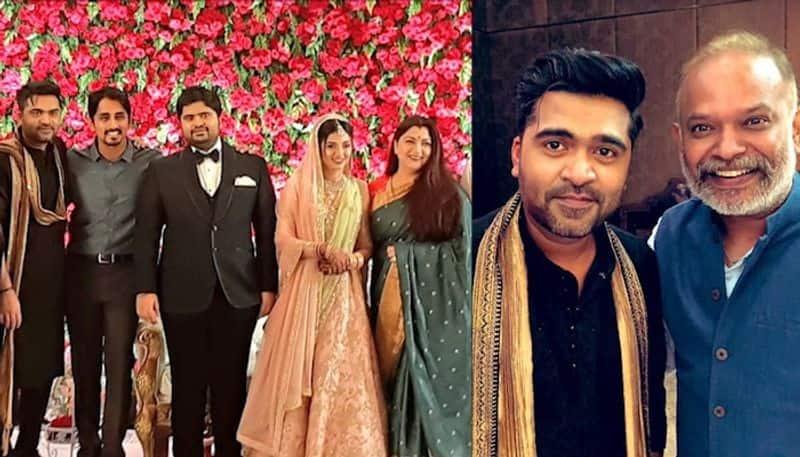 Suriya to Latha Rajinikanth: Celebs attend Simbu's brother Kuralarasan's wedding reception [Photos]