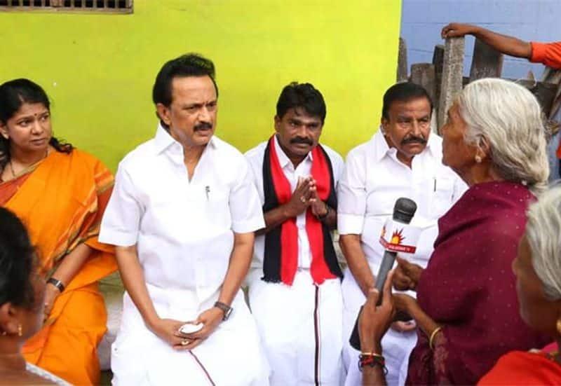 DMK chief staline in ottapidaram