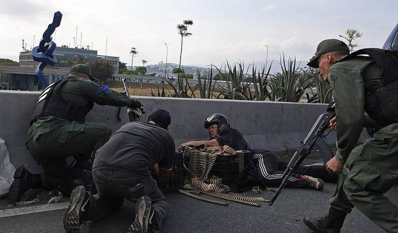 Venezuelan violence escalates as Maduro regime fights back against coup attempt