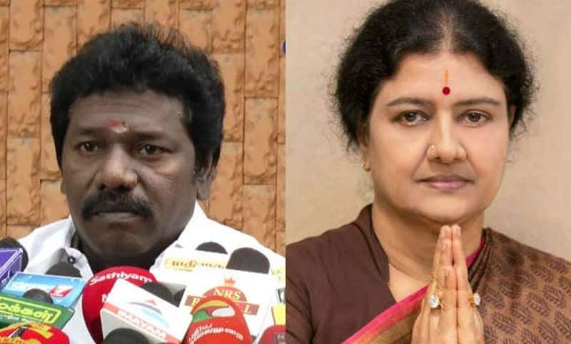 Coming Soon Sasikala.. Twist to put Karunas to AIADMK!