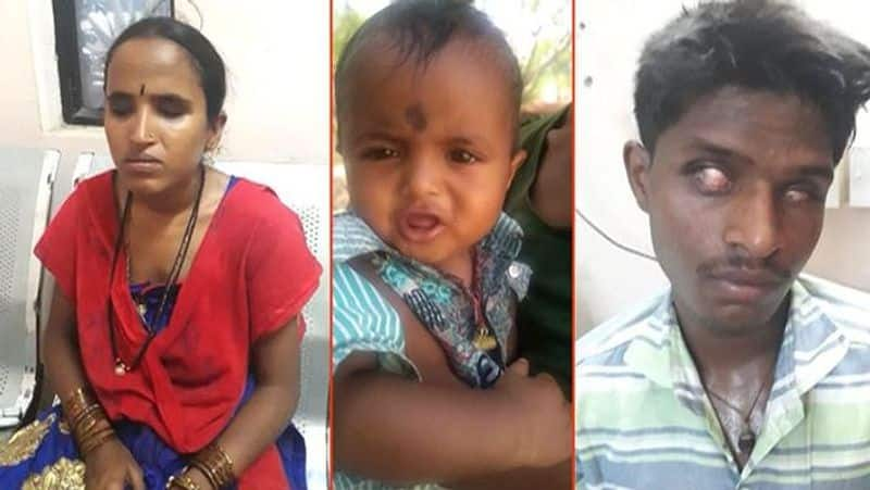 Visually impaired couple reunited baby after four days