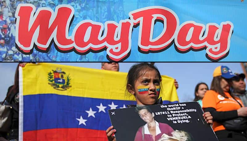 May Day celebrated world over Venezuela leads life of labour