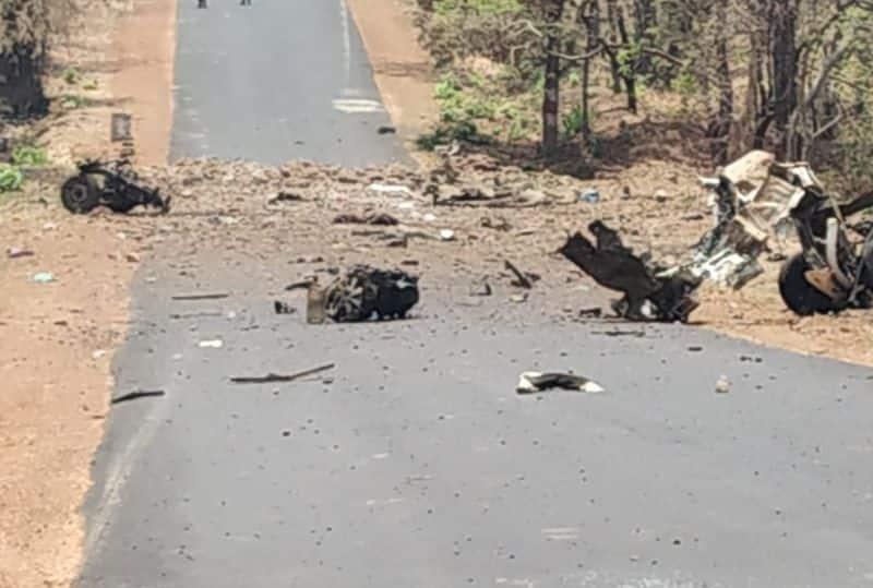 Naxal Attack in Maharashtra Gadchiroli, 15 Commando martyr