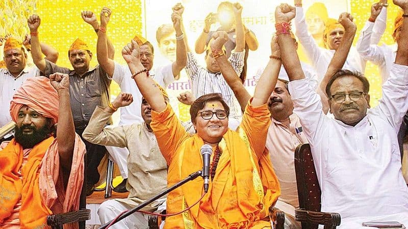 BJP leadership scolded sadhvi pragya for her controversial statement