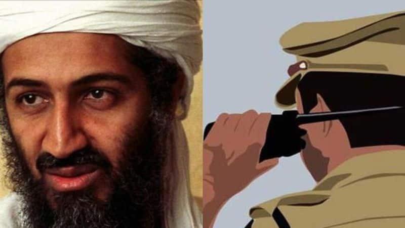Osama Bin Laden appears car police take passengers into custody