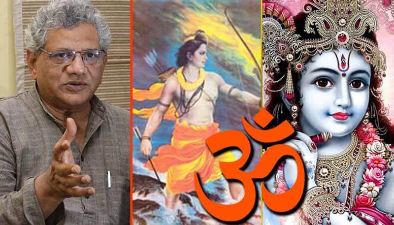 Ramayana Mahabharata are proof Hindus too can be violent Sitaram Yechury