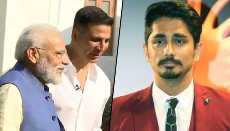 Tamil actor Siddharth takes dig at Akshay Kumar over 'non-political' interview with PM