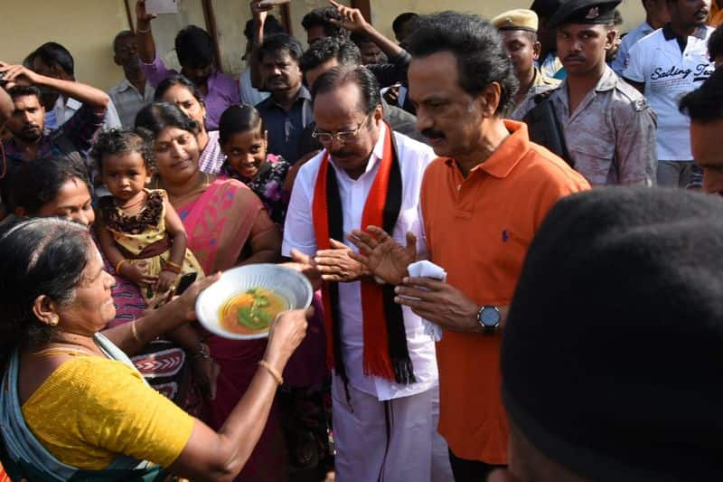 MK Stalin at ADMK fort sulur constituency