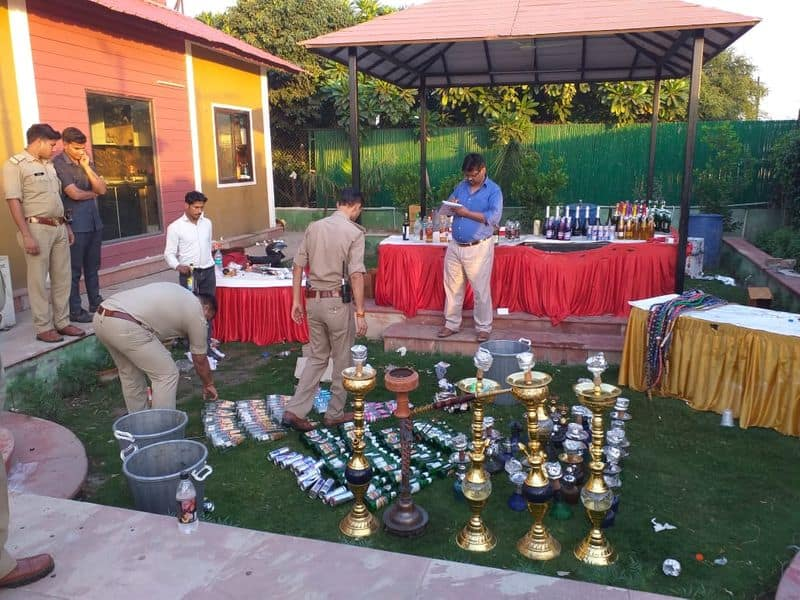 Massive rave party bust in Noida Expressway Farmhouse, drugs and prostitution probed