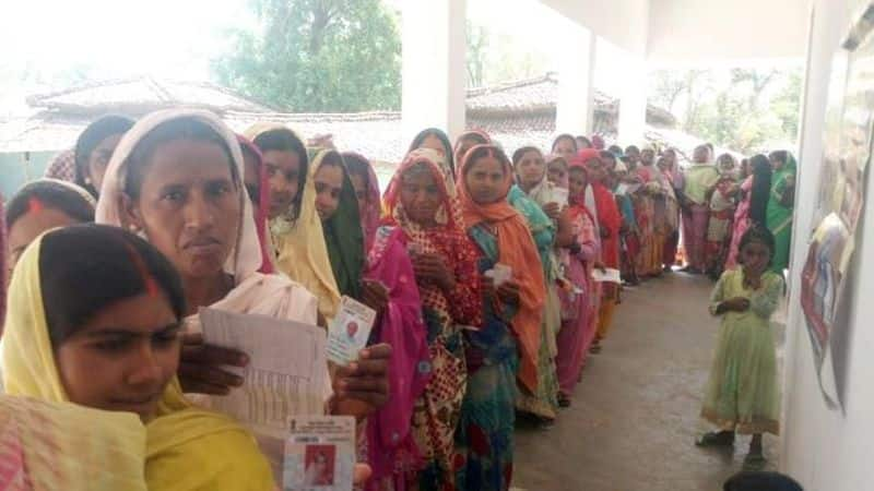 Polling begin for the fifth phase election in seven state