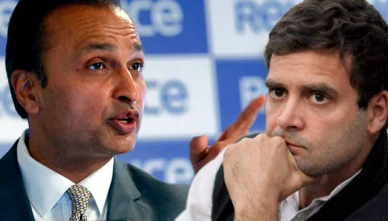 Did Congress support a crony capitalist Anil Ambani Reliance Group hits out at Rahul Gandhi