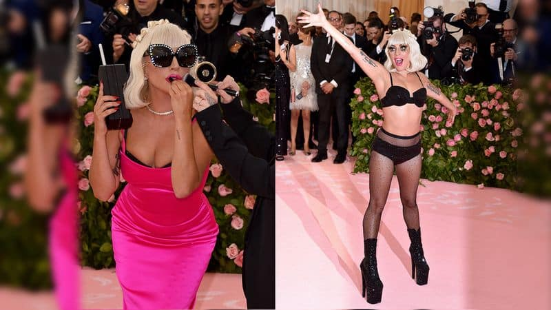 Met gala 2019 lady gaga changes four outfits on red carpet