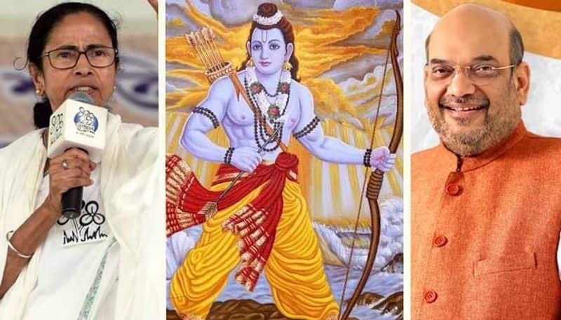BJP send 10 lakh Jai Shri Ram postcards Mamata Banerjee official residence
