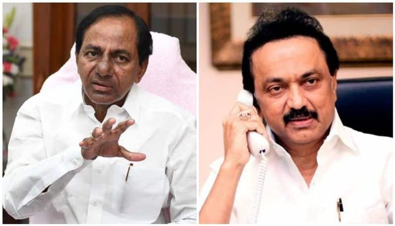 Stalin meets KCR Chennai refuses join federal front