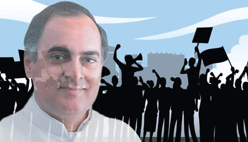 DU and JNU teachers back Rajiv Gandhi and forget what happened to a teacher in 1988