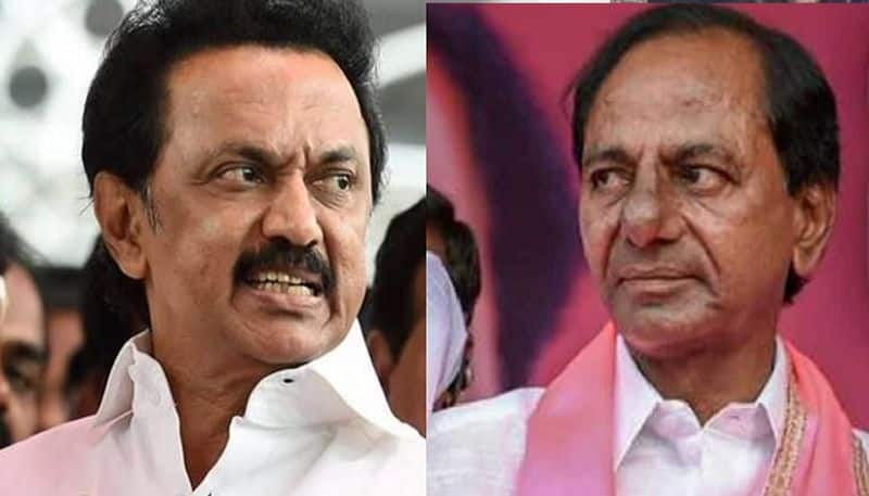 Stalin KCR meet Chennai not good news Congress