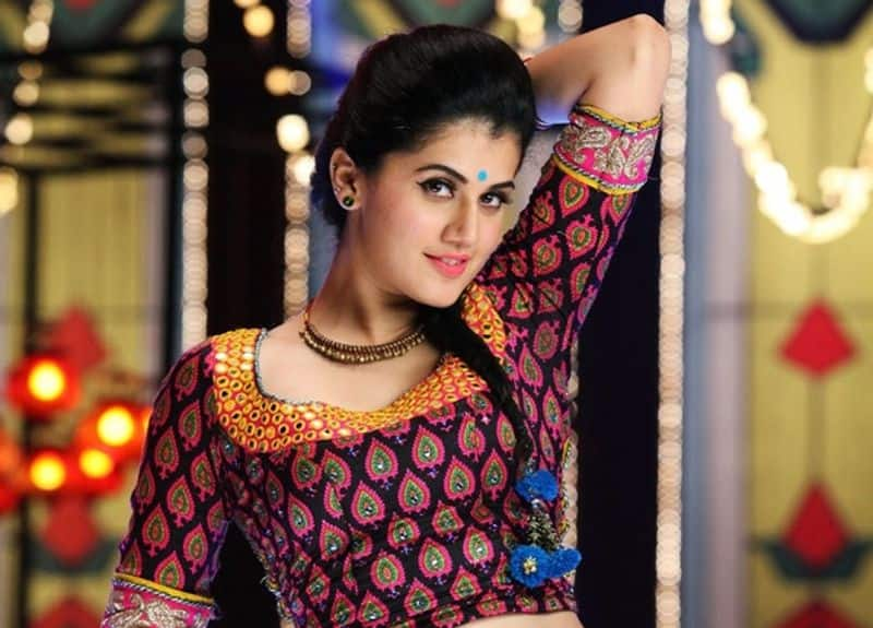 actress tapsee commited jayam ravi movie
