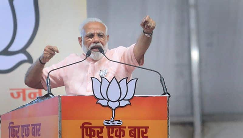From SCAM to NARA PM Modi reaches masses with his mnemonics