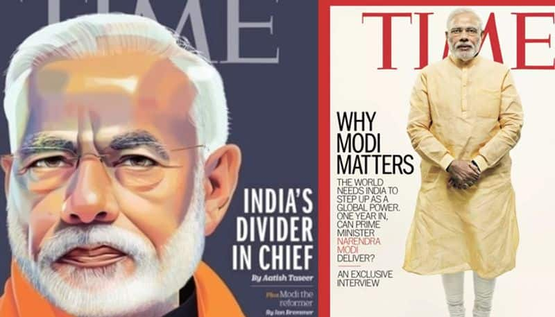 time magazine's cover story on modi