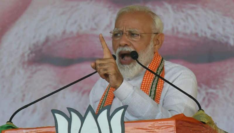 Modi turns Hua to Hua into political RDX to hit out at 'naamdar chief', from Rohtak rally