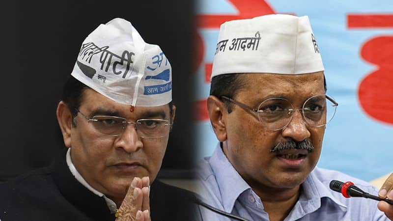 my father paid Arvind Kejriwal Rs 6 crore for West Delhi ticket