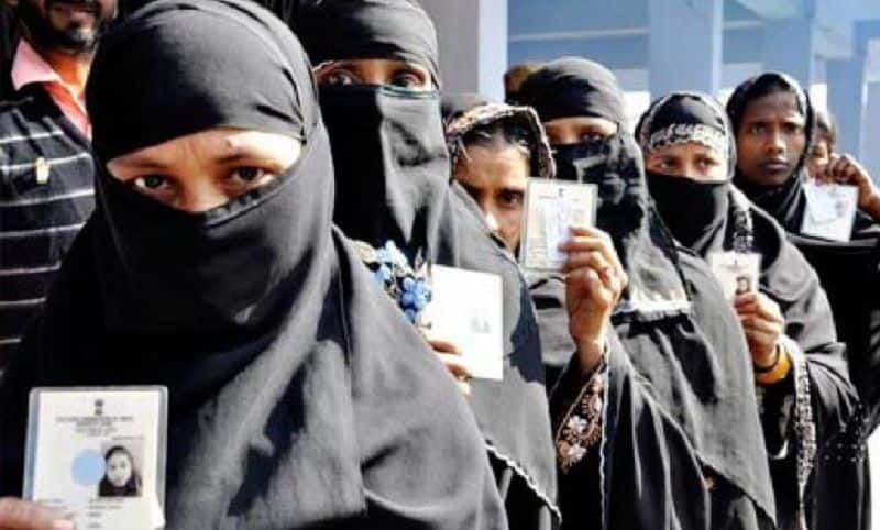 Now the Election Commission's order will stop the fraud under the burka
