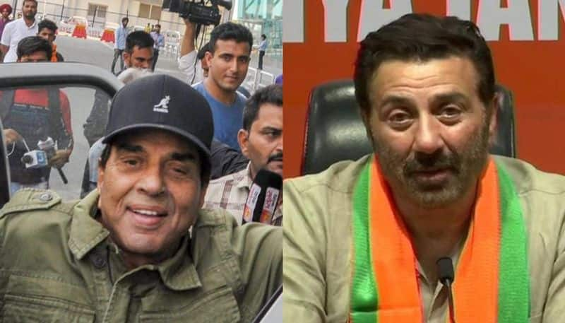 dharmendra happy about wife and son win in lok sabha election