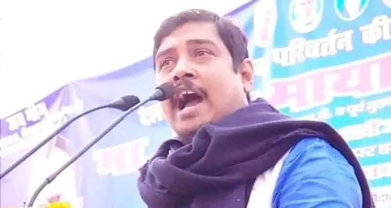 This Mahagathbandhan candidate from Ghosi is an absconding alleged rapist