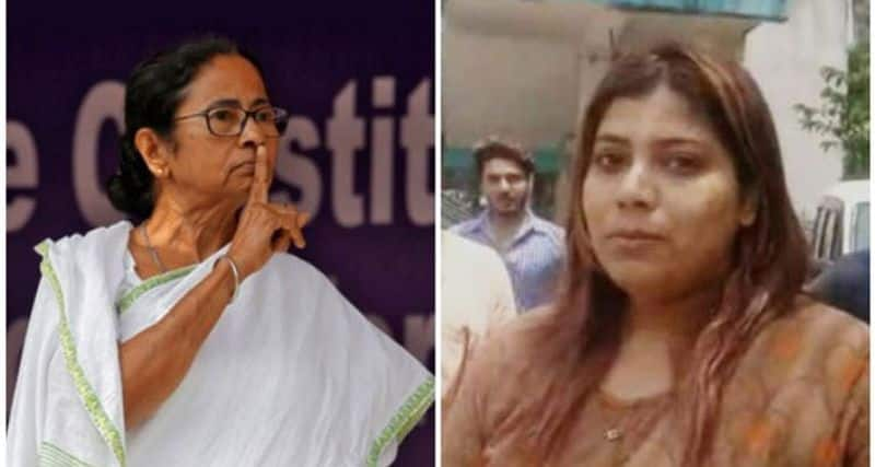 Court asks mamata Banerjee facebook photoshop image accused Priyanka to seek apology after release