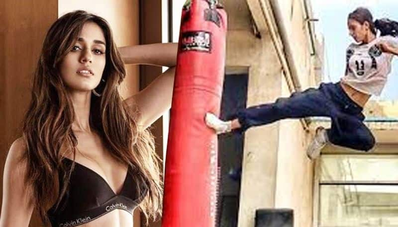 Disha Patani butterfly kick proves that she is one of the fittest actresses
