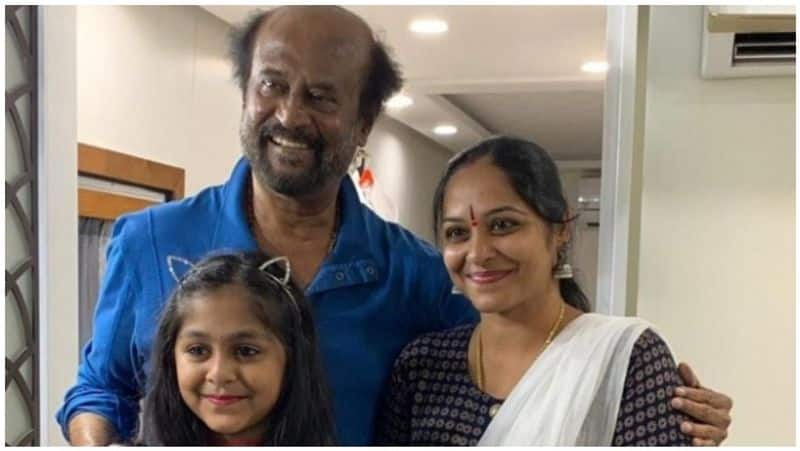 a.r.murugadoss's wif and daughter with rajini
