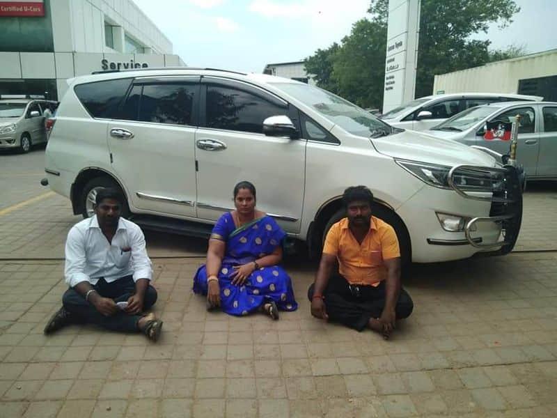 toyotta car repair balame  lady