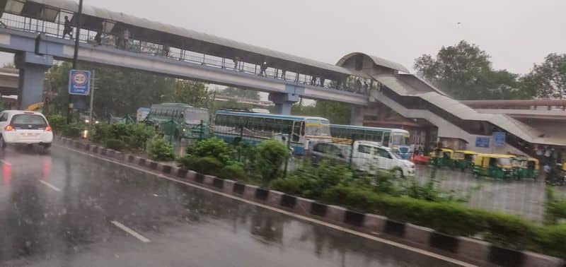 Delhi drenched as sudden rain brings respite from unbearable heat