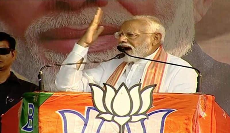 Bengal will help BJP go past the 300-seat mark says Prime Minister Modi in Bashirhat